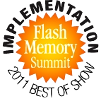 Flash Memory Summit 2011 Best of Show Winner - learn more at www.omarbarraza.com
